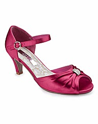 Joanna Hope Peep Toe Shoes EEE Fit