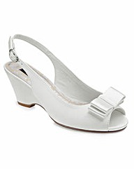 JOANNA HOPE Peep Toe Wedge Shoes EEE Fit