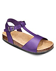 Sole Diva Footbed Sandals EEE Fit