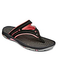 Dunlop Toe Post Sandals EEE Fit