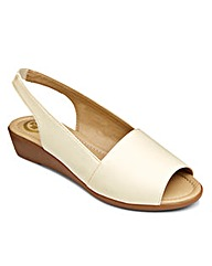 Dr Keller Slingback Sandals E Fit