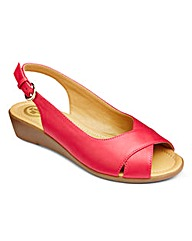 Dr Keller Slingback Sandals EEE Fit