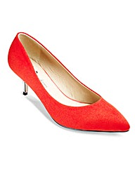 Lorraine Kelly Pointed Court Shoes EEE