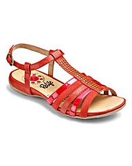 Relife Strappy Sandals EEE Fit