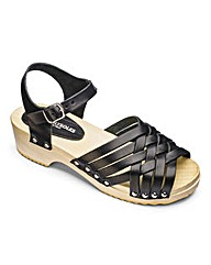 Heavenly Soles Leather Sandals D Fit