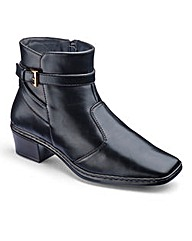 Cushion Walk Ankle Boots E Fit