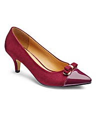 Lorraine Kelly Court Shoes with Trim EEE