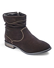 Brevitt Suede Ankle Boots E Fit