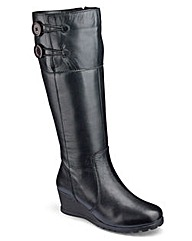 Lotus High Leg Boots E Fit Standard