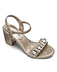 Heavenly Soles Jewel Sandals E Fit