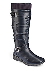 Cushion Walk Boots EEE Fit Curvy Plus