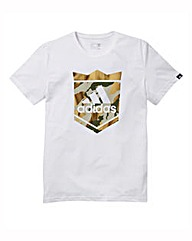 adidas Crown Logo Tee