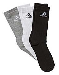 adidas 3 Pack of Socks