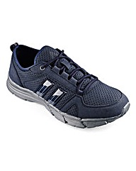 Cushion Walk Lace Trainer Wide Fit