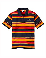 Ellesse Striped Polo Shirt Long