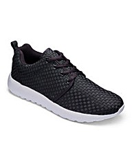 JCM Sports Woven Trainers Extra Wide