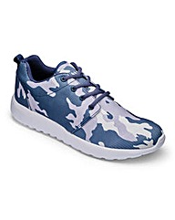 JCM Sports Camouflage Trainer Extra Wide