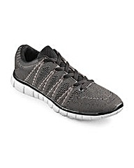 JCM Sports Knitted Trainer Extra Wide