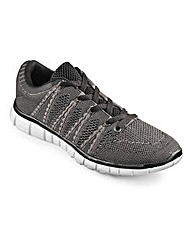 JCM Sports Knitted Trainer Standard