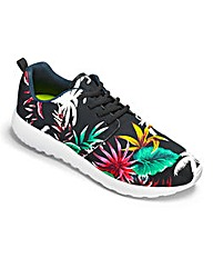 JCM Sports Floral Trainers Std
