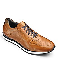 JCM Sports Classic Leather Trainers Std
