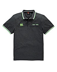 Canterbury Tipped Pocket Pique Polo