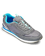 JCM Sports Classic Leather Trainers EW