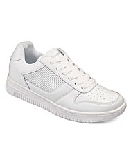 JCM Sports Leather Trainers Std