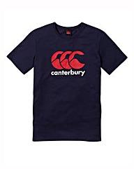Canterbury Navy CCC Logo T-Shirt