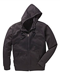 JCM Sports Black Full Zip Hoodie