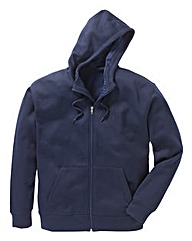 JCM Sports Navy Full Zip Hoodie
