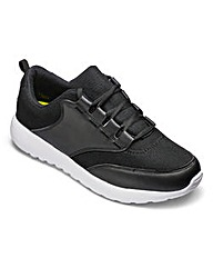 JCM Sports Lace Up Trainers Extra Wide