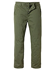 Jacamo Khaki Modern Chinos 35 Inches