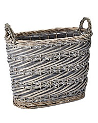 Split Willow Oval Basket