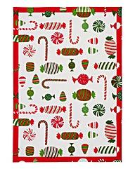 Christmas Treats Tea Towel