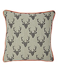 Richmond Stag Print Cushion