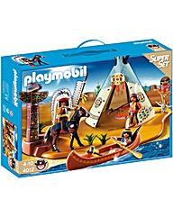 Playmobil SuperSet Native American Camp