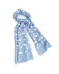 Petal Dolls Cool Feathers Scarf