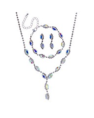 Mood Aurora borealis jewellery set