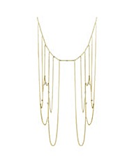 Mood Gold shoulder chain necklace