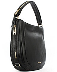 Michael Kors MK JLA MD Black Shoulder