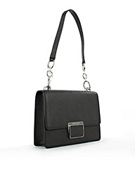Michael Kors CYN SHLDR FLP Black Bag