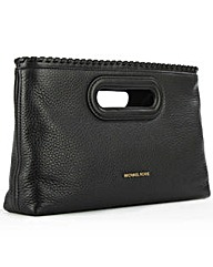 Michael Kors Rsli Lrg Black Clutch