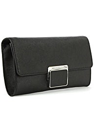 Michael Kors Black Cynth Clutch Bag