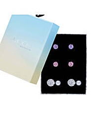 Mood Front And Back Earring Set