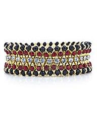 Mood Crystal strech bracelet