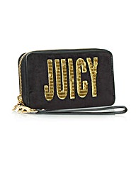 Juicy Flag Tech Wristlet Black