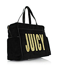 Juicy Flag Diaper Bag Black