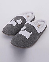 Dog Mule Slipper E Fitting