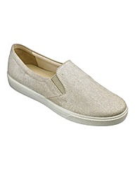 Hotter Georgia Slip On Shoes E Fit
